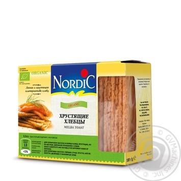 Хлебцы Nordic органический хрустящие 100г - купить, цены на Novus - фото 1