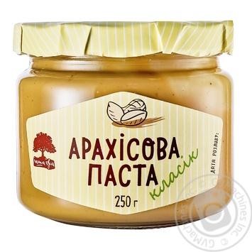 Арахісова паста Інша Їжа класік 250г - купити, ціни на МегаМаркет - фото 1