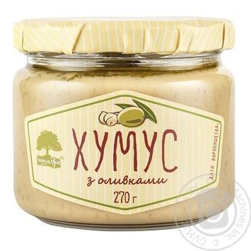 Хумус Інша Їжа з оливками 270г - купити, ціни на МегаМаркет - фото 1