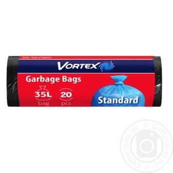 Пакети для сміття Vortex 35л 20шт - купити, ціни на Восторг - фото 1