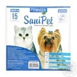 Пелюшка Природа Sani Pet для тварин 60х45см 1шт