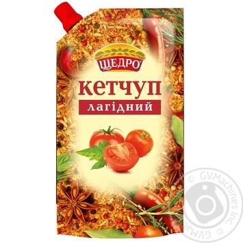 Кетчуп Щедро Лагідний 250г - купити, ціни на Novus - фото 1