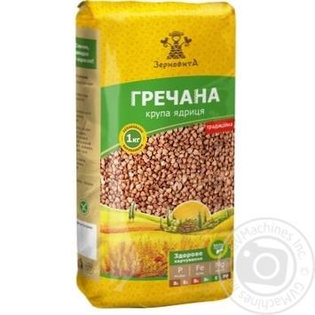 Zernovyta Unground Buckwheat 1kg - buy, prices for MegaMarket - image 1