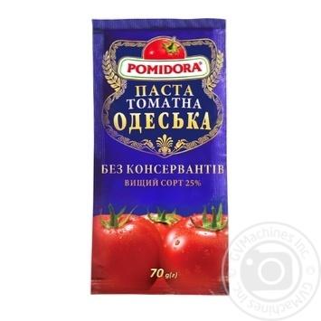 Паста томатная Помідора Одесская 70г