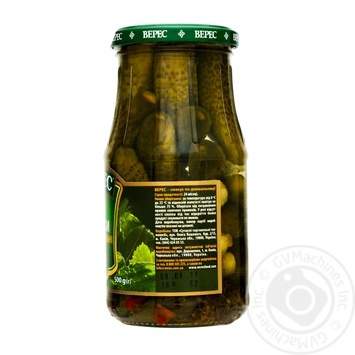 Огірки Верес мариновані 500г - купити, ціни на Novus - фото 2