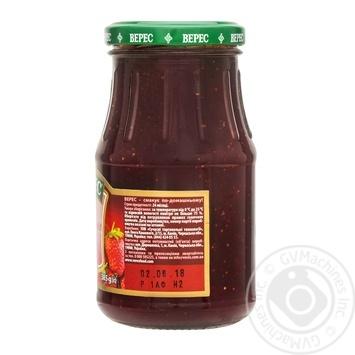 Джем Верес полуничний 385г - купити, ціни на Восторг - фото 2