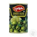 Оливки Lorado фаршированные лимоном 300г