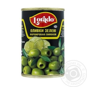 Оливки Lorado фаршированные лимоном 300г - купить, цены на Varus - фото 1