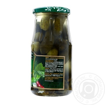 Veres pickled hot cucumber 500g - buy, prices for Novus - image 2