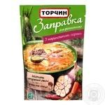 Заправка Торчин с маринованными огурцами для первых и вторых блюд 240г - купить, цены на Novus - фото 1