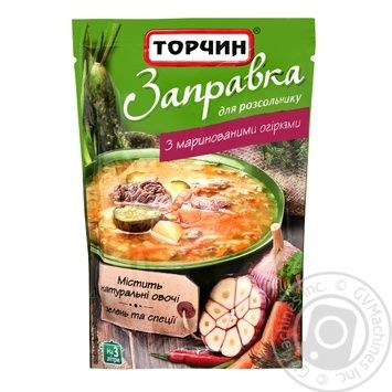 Torchin Cooking Base For Rossolnik With Pickled Cucumbers 240g - buy, prices for Novus - image 1