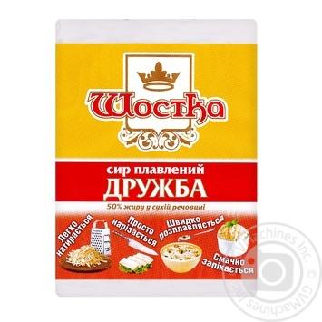 Сыр Шостка Дружба плавленый 50% 90г - купить, цены на Восторг - фото 1