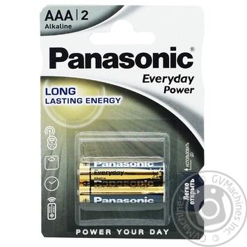 Батарейка Panasonic Everyday Power AAA 2шт