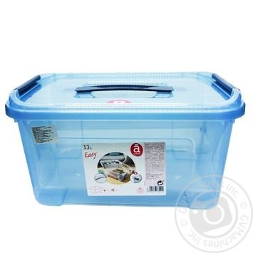 Ящик для зберігання речей Actuel 13л - buy, prices for Auchan - photo 1