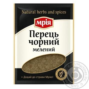 Mria Ground Black Pepper - buy, prices for Novus - image 1