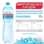Минеральная вода Миргородская Лагидна природная слабогазированная 1,5л - купить, цены на Ашан - фото 3