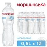 Still natural mineral water Morshynska 0,5l - buy, prices for Novus - image 3