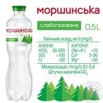 Мінеральна вода Моршинська природня слабогазована 0,5л - купити, ціни на Varus - фото 3