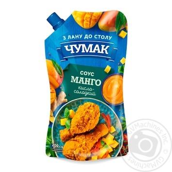 Соус Чумак Манго кисло-сладкий 200г - купить, цены на Ашан - фото 1