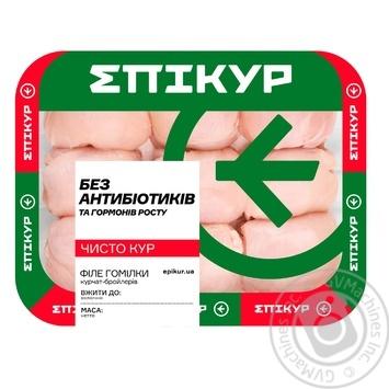 Куряче філе з гомілки Епікур вакуумна упаковка - купити, ціни на МегаМаркет - фото 1