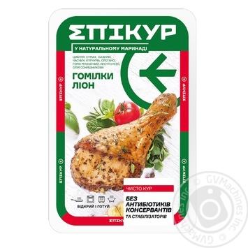 Курица голень в маринаде Эпикур Лион вакуумная упаковка - купить, цены на МегаМаркет - фото 1
