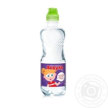 Вода Аквуля спорт негазированная детская 500мл - купить, цены на Novus - фото 1