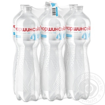 Минеральная вода Моршинская негазированная 1.5л