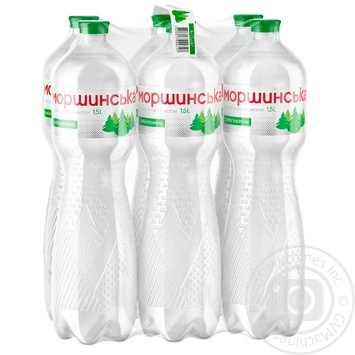 Light sparkling mineral water Morshynska 1,5l - buy, prices for Metro - image 1