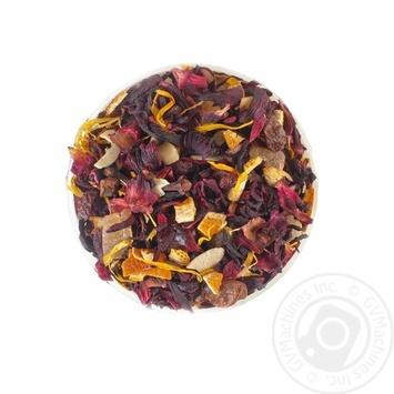 Композиция на основе плодово-ягодного чая и каркаде Чайные Шедевры Королевський десерт