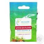 Healer Cosmetics Cream Balm For Pain In The Spine 10g