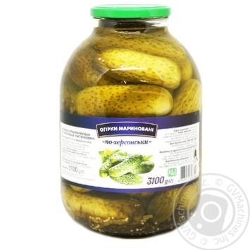 Огурцы По-херсонски маринованные 3,1кг
