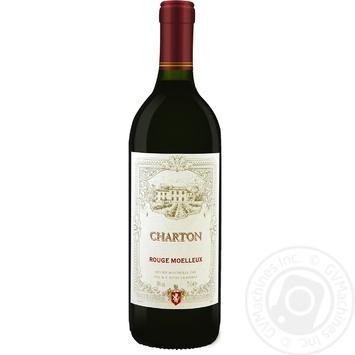 Вино Charton Руж Муале красное полусладкое 750мл - купить, цены на Восторг - фото 1