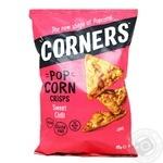 Чипсы Corners кукурузные со вкусом сладкого перца Чили 85г