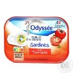 Сардина Odyssee в томатном соусе 135г