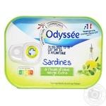 Сардина Odyssee в оливковом масле 135г