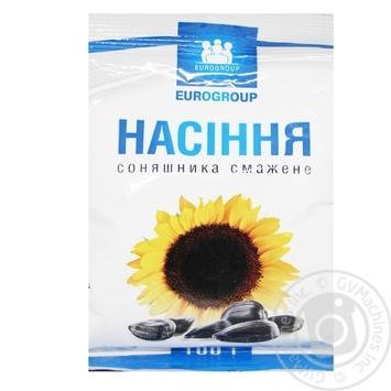Семена подсолнечника Eurogroup жареные 100г - купить, цены на Таврия В - фото 1