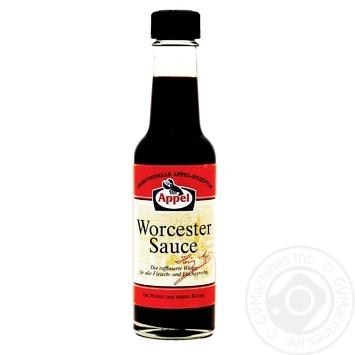 Соус вустерширский Appel Worcest Saus 140мл - купить, цены на Восторг - фото 1