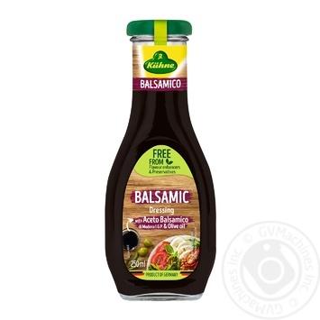 Соус Kuhne Бальзамический салатный 250мл - купить, цены на Восторг - фото 1