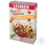 Сухарики Leimer Croutons со вкусом сыра 100г