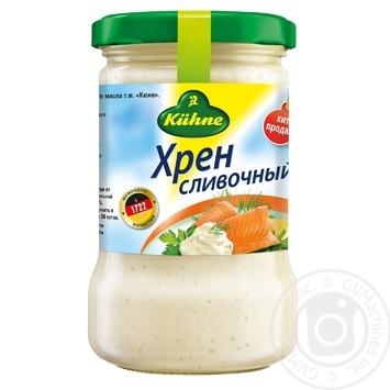 Kuhne White Creamy Horseradish 250g - buy, prices for CityMarket - photo 1