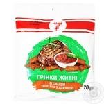 Гренки Семерка ржаные со вкусом телятины с аджикой 70г