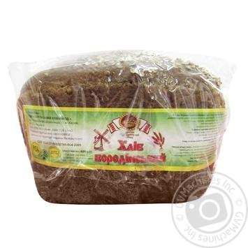 Хлеб ржаной Короваево Салтовский хлебозавод Бородинский 600г - купить, цены на Таврия В - фото 1