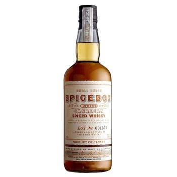 Віскі Spicebox Spiced 35% 0.75л - купити, ціни на МегаМаркет - фото 1