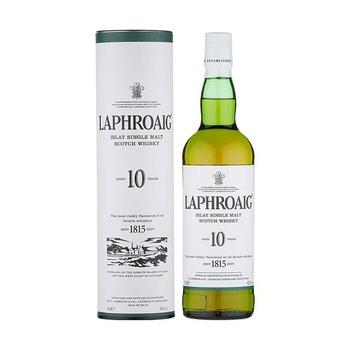 Laphroaig islay single malt scotch whiskey 10 yrs 40% 0,7l - buy, prices for Novus - image 1