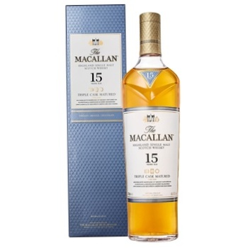 The Macallan Triple Cask Matured15 Yrs Whisky 43% 0.7l - buy, prices for Furshet - image 1