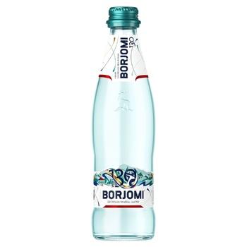 Вода Borjomi минеральная сильногазированная стеклянная бутылка 0,33л - купить, цены на МегаМаркет - фото 1
