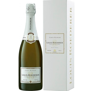 Louis Roederer Demi Sec Carte Blanche White Semi-Dry Champagne 12% 0.75l