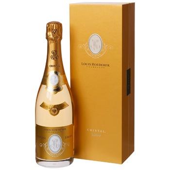 Louis Roederer Cristal Vintage White Brut Champagne 12% 0.75l - buy, prices for Vostorg - photo 1