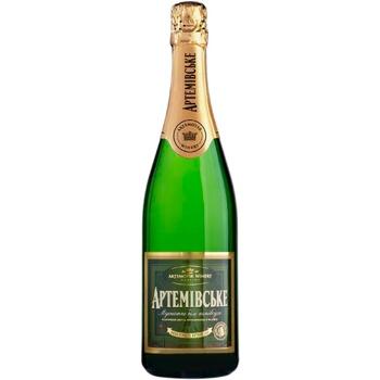 Sparkling wine muscat Azshv white semidry 12% 2009year 750ml glass bottle Ukraine - buy, prices for Novus - image 1