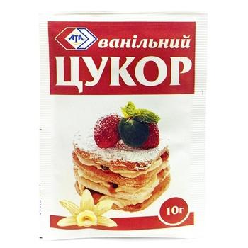 Сахар ванильный АТА 10г - купить, цены на МегаМаркет - фото 1